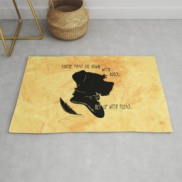 Those That Lie Down With Dogs, Get Up with Fleas Rug