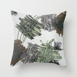 Carbonation Collection: winter Throw Pillow