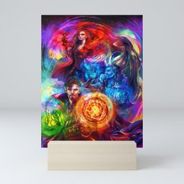 Sorcerer Trio Mini Art Print