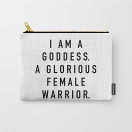 Pawnee Goddess - Parks and Rec Carry-All Pouch