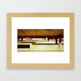 Platform A Framed Art Print