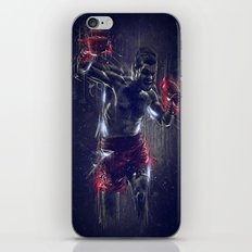 DARK BOXING iPhone & iPod Skin