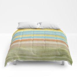 Colorbands Yellowstone Yellow Comforters