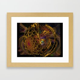 Doin' the Cosmic Boogie Framed Art Print