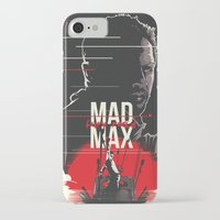 mad max iPhone & iPod Cases featuring Mad Max - fury road by FourteenLab