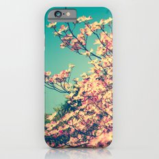 Her Favorite Color was Pink Flowers Slim Case iPhone 6s
