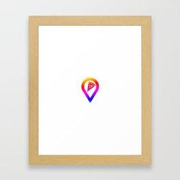 Pizza | italien Food Pasta gift idea Framed Art Print
