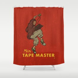 Mix Tape Master Shower Curtain