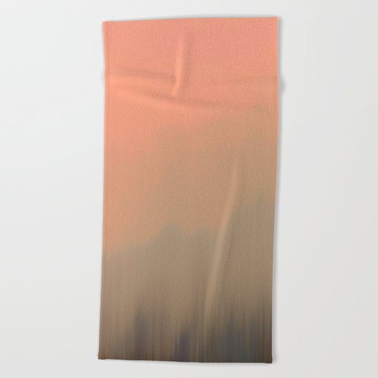 Empty Fog Beach Towel