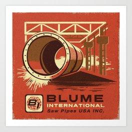 BLUME INTERNATIONAL Art Print