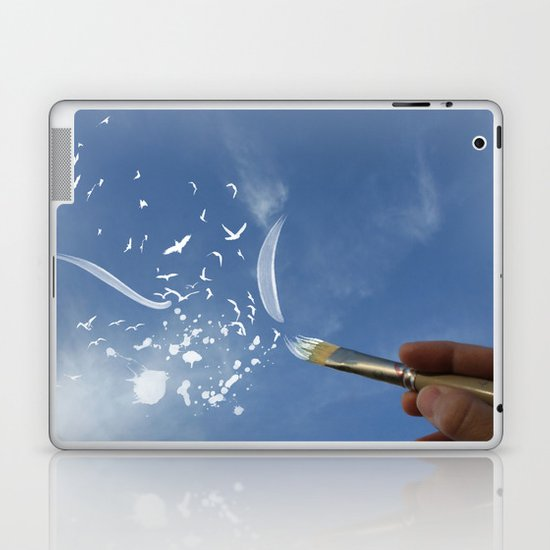 Painted Sky Laptop & iPad Skin