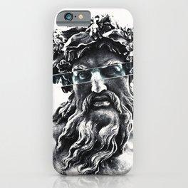 Zeus the king of gods iPhone Case