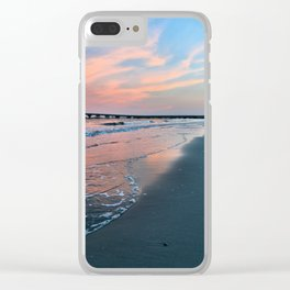 Shore Colors Clear iPhone Case