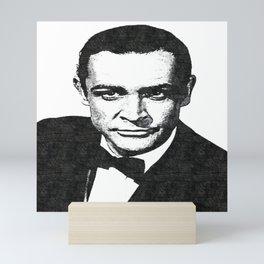 Sir Sean Connery - Scottish Actor - Bodybuilding - ICON 1445 Mini Art Print