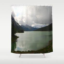 Dark Skies Over Medicine Shower Curtain