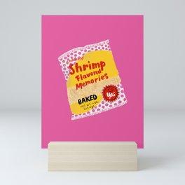 Shrimp Flavored Memories Mini Art Print