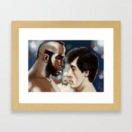 Fight! Framed Art Print