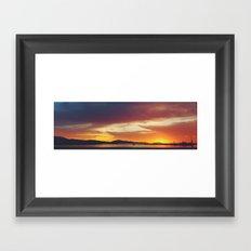 Sunrise of Hope Framed Art Print
