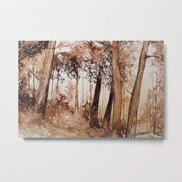 Forest Discovery Metal Print
