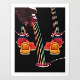 These Are Lean Times Art Print