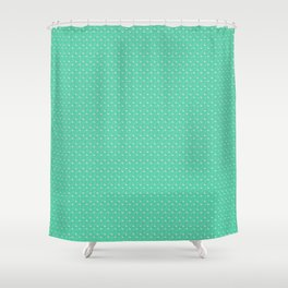 flemingo pattern Shower Curtain