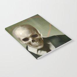 Skully Gentleman Notebook
