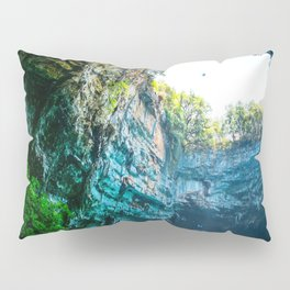 Sea Cave in Greece Pillow Sham