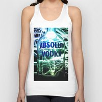 vodka Tank Tops featuring Absolut Vodka by Rothko