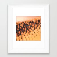 cabin pressure Framed Art Prints featuring Pressure by Christoph Grigoletti