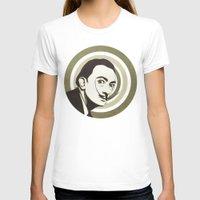 salvador dali T-shirts featuring Salvador Dali by Kristjan Lyngmo