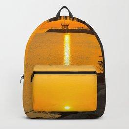 Golden Sunset Backpack