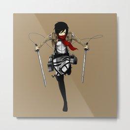 Mikasa Nice 10 Metal Print