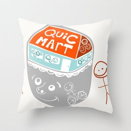 i are convenience Throw Pillow