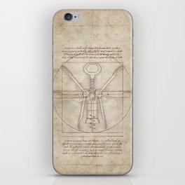 Da Vinci's Real Screw Invention iPhone Skin
