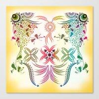 bohemian Canvas Prints featuring Bohemian  by famenxt