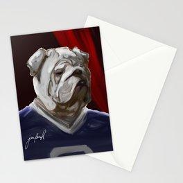 Bulldog Mascot II Stationery Cards