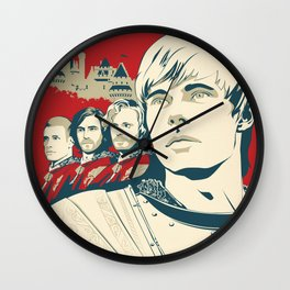 Join Camelot's Knights - Merlin Wall Clock