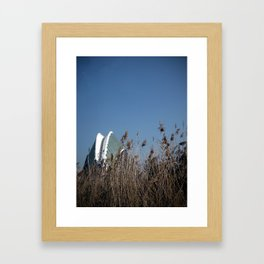 Doble capa Framed Art Print