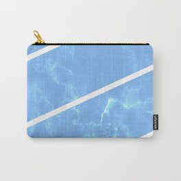 Blue Granite Carry-All Pouch