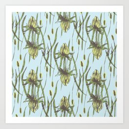 Stockholm Garden Flower Blooming Art Print