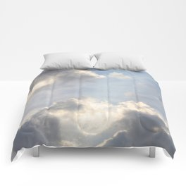 Early Morning Sky Comforters