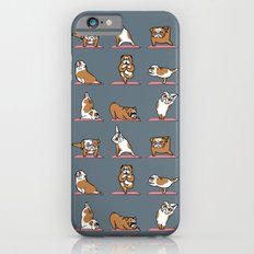 English Bulldog Yoga Slim Case iPhone 6