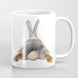 Cute Bunny Rabbit Tail Butt Image Easter Animal Coffee Mug