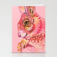 squirrel Stationery Cards featuring The squirrel magic  by Ola Liola