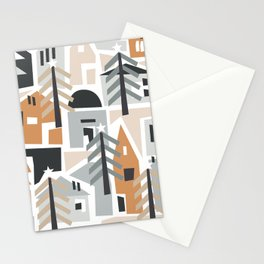 Holiday shapes Stationery Cards