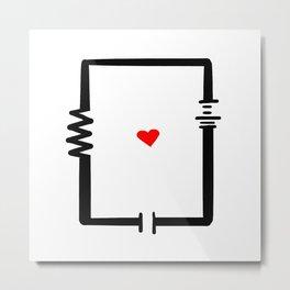 Circuit Metal Print