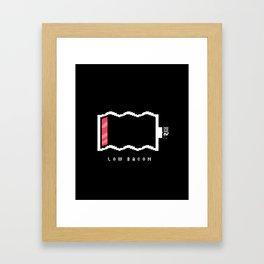 Low Bacon Framed Art Print