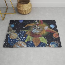 Juggling the Planets Rug