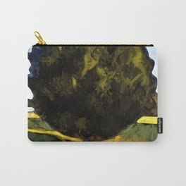 Tree of Green in the Morning Sun Carry-All Pouch