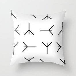 layaads Throw Pillow